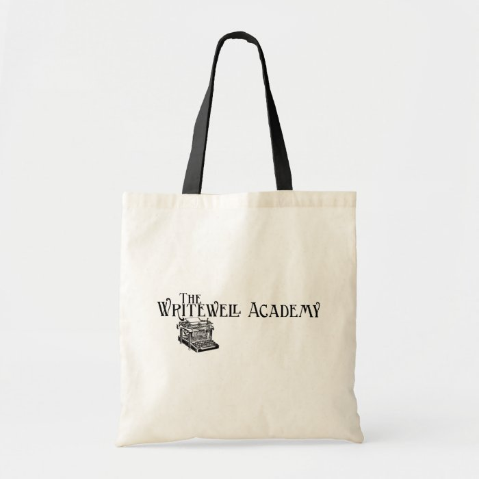 Writewell Academy Logo Tote