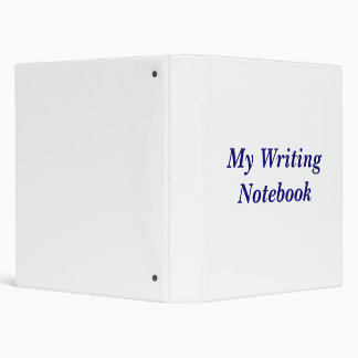 Writing Binder