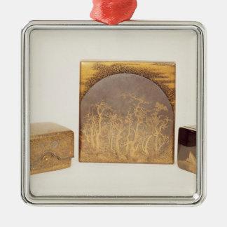 Writing Box, c.1830 Metal Ornament