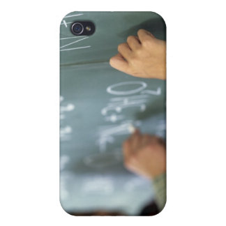 writing chemical equations on the blackboard in iPhone 4/4S cases
