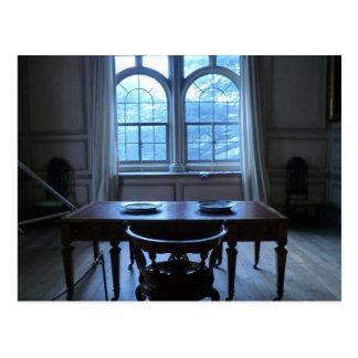 Writing Desk at Sudbury Hall Postcard