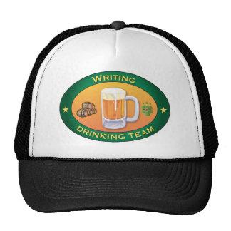 Writing Drinking Team Trucker Hat