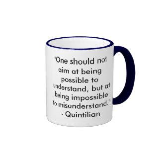 Writing & Editing Quotation Mug