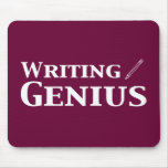 Writing Genius Gifts Mouse Pad