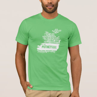 Writing in Ireland in Multiple Colors T-Shirt