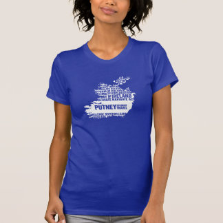 Writing in Ireland in Multiple Colors T Shirt