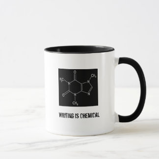Writing is Chemical Mug