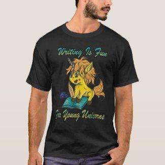Writing Is Fun For Young Unicornsw T-Shirt
