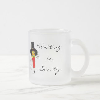 Writing is Sanity -- Writer's Mug
