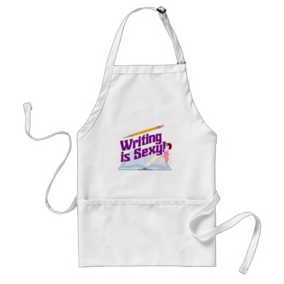 writing is sexy apron p154534243161986505q6wc 400 Hot Pictures From The 8th Street Latinas: