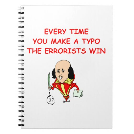 writing joke notebook