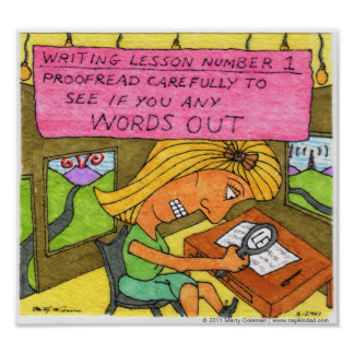 Writing Lesson 1 Poster
