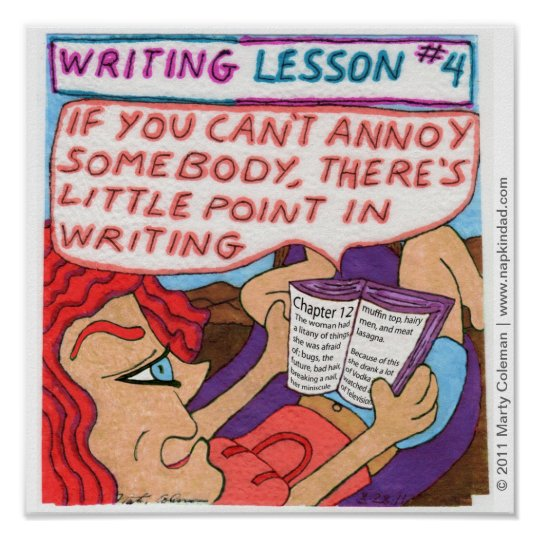 Writing Lesson #4 Poster