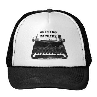 WRITING MACHINE WRITER HAT