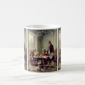 Writing of the Declaration of Independence Coffee Mug