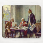 Writing of the Declaration of Independence Mouse Pads