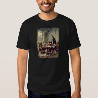 Writing of the Declaration of Independence Shirt