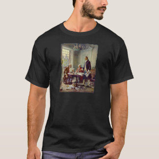 Writing of the Declaration of Independence T-Shirt