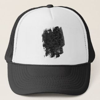 Writing once upon a time black silver kids story trucker hat
