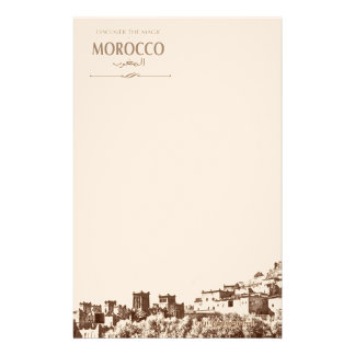 Writing Paper Moroccan Kasbah Stationery Paper