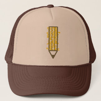Writing Pencil Hat