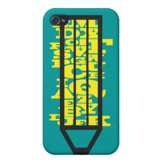 Writing Pencil Speck Case iPhone 4 Covers