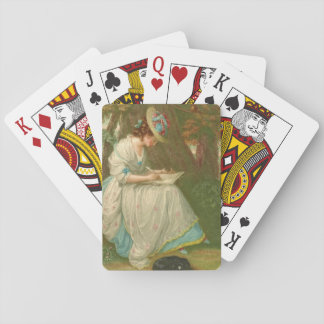 Writing Poetry 1781 Playing Cards
