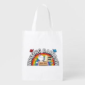 Writing Rainbow Reusable Bag