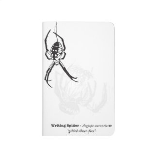 Writing Spider Pocket Journal