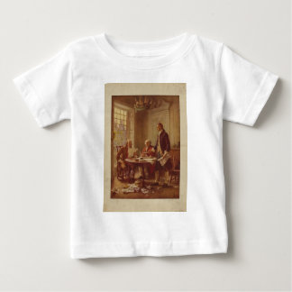 Writing the Declaration of Independence by Ferris Baby T-Shirt