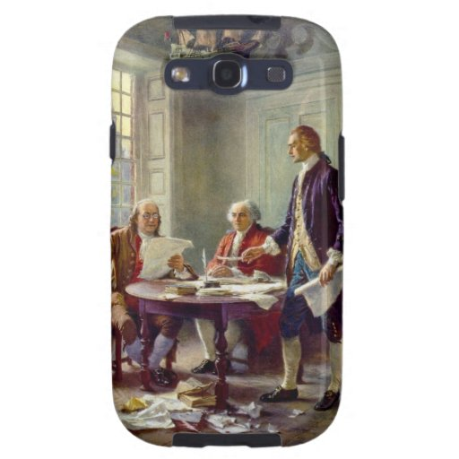Writing the Declaration of Independence by Ferris Galaxy SIII Covers