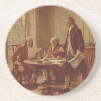 Writing the Declaration of Independence by Ferris Coaster