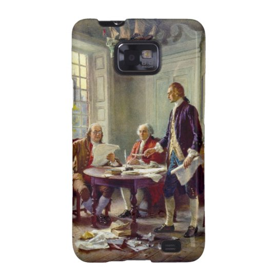 Writing the Declaration of Independence by Ferris Samsung Galaxy S2 Case