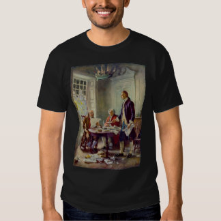 Writing the Declaration of Independence Tshirt