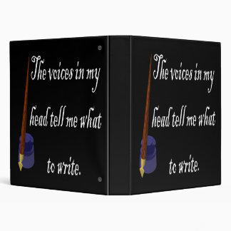 Writing Voices 3 Ring Binders