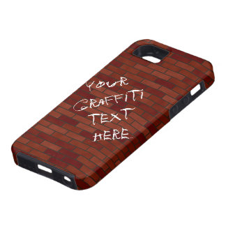 Writings on the brick wall iPhone 5 case
