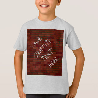Writings on the brick wall T-Shirt