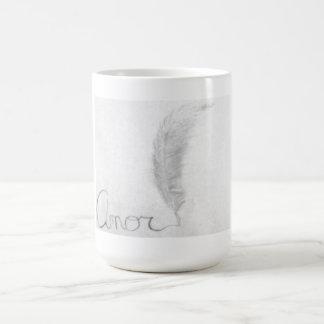 Written Amor  Mug