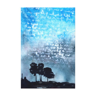 Written in the Stars Canvas Print