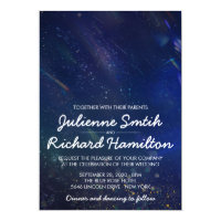 Written in the Stars Galaxy Wedding Invitation