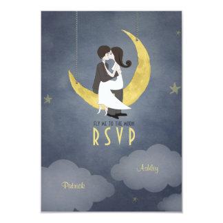 Written in the Stars Wedding RSVP Invitation