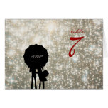 Written in the Stars Wedding Table Number Card
