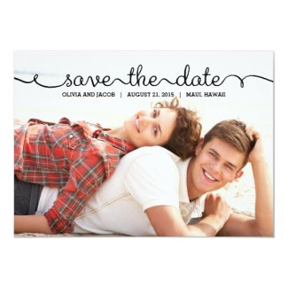Written With Love Save The Date Card