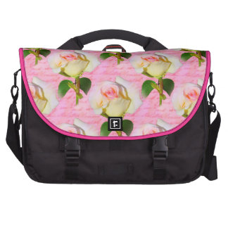 Written with Rose Laptop Messenger Bag