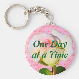 Written with Rose ODAT Basic Round Button Keychain
