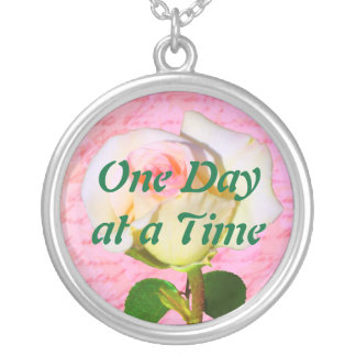 Written with Rose ODAT Silver Plated Necklace