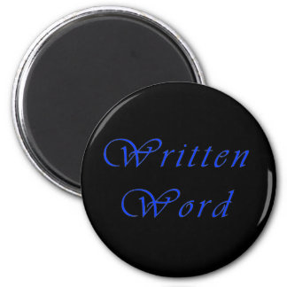 Written Word Magnet