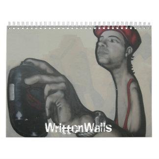 WrittenWalls Wall Calendar