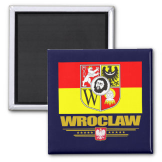 Wroclaw 2 Inch Square Magnet