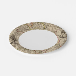 Wroclaw Poland 7 Inch Paper Plate